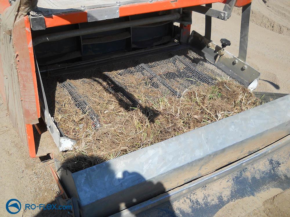 RO-FLEX Sandreinigung Spielplatz Karlburg Unrat