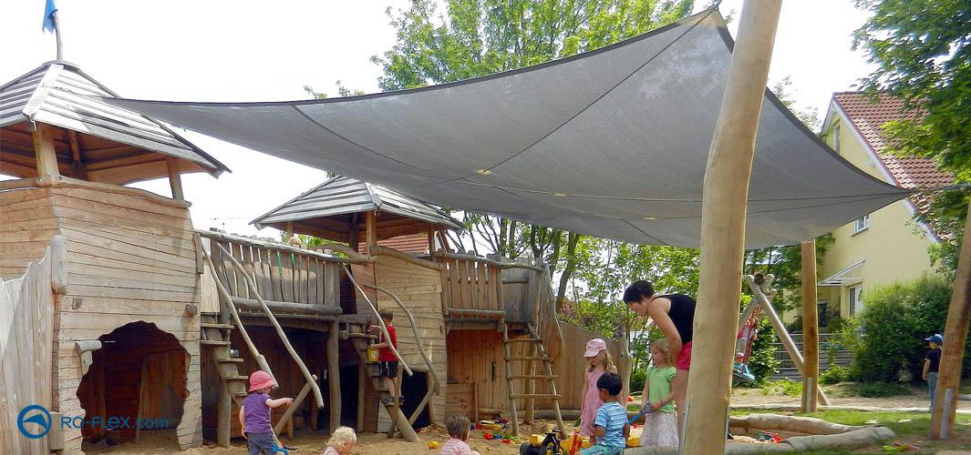 Sonnensegel, Sonnenschutz für Kinder