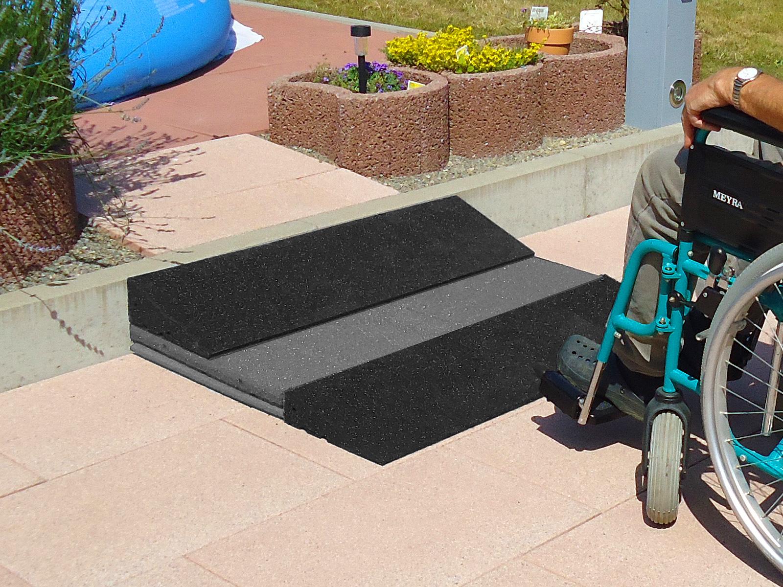 RO-FLEX Rollstuhlrampe