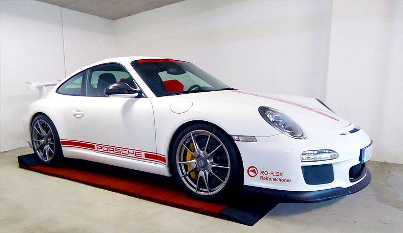 Reifenschoner für Porsche