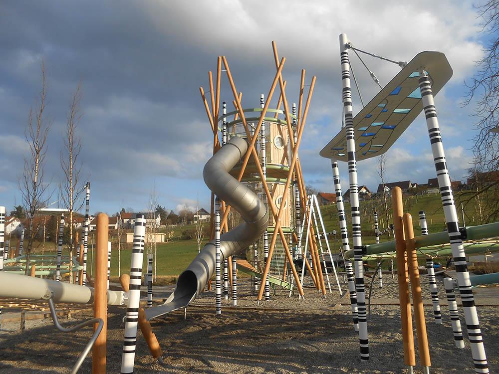 RO-FLEX Spielplatzbau Referenz Oehringen