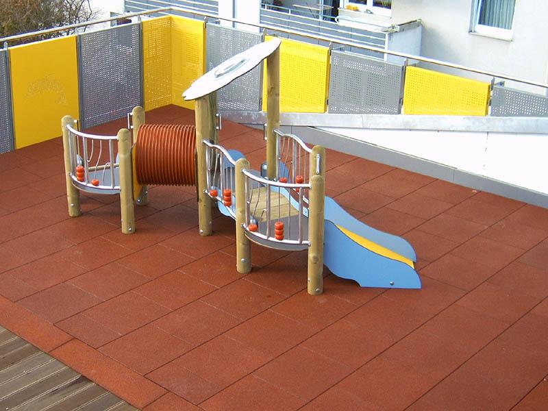 Fallschutzmatten Spielplatz