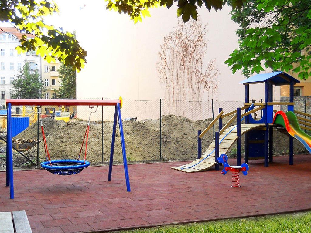 Fallschutz für Spielplatz