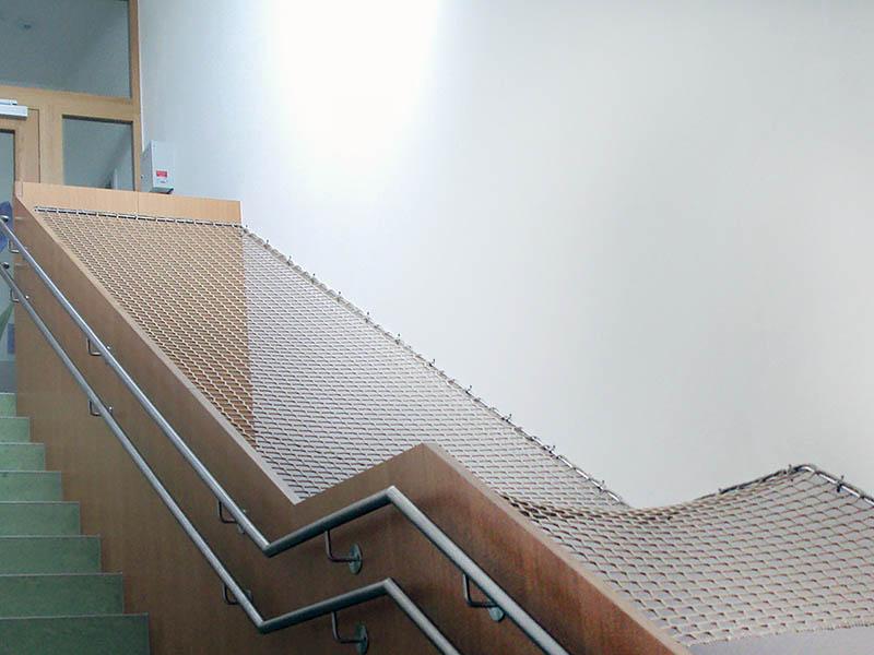 Sicherungsnetz für Treppen