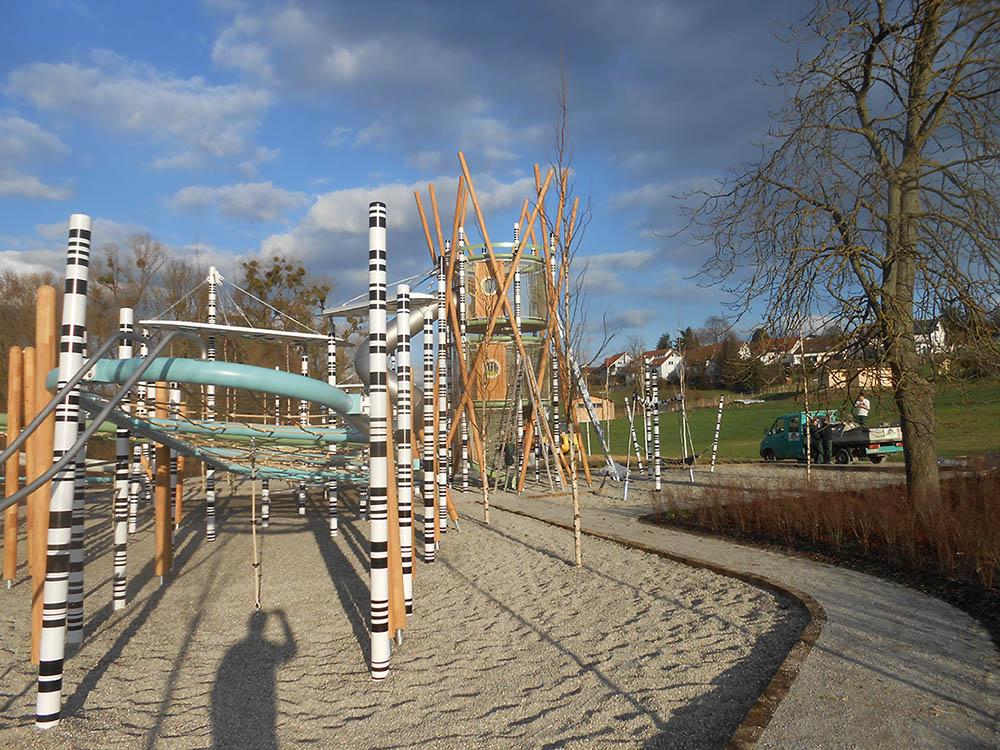 RO-FLEX Spielplatzbau Referenz Oehringen 2