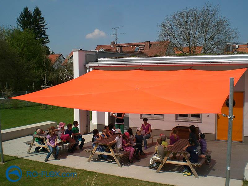 Kindergarten Sonnensegel