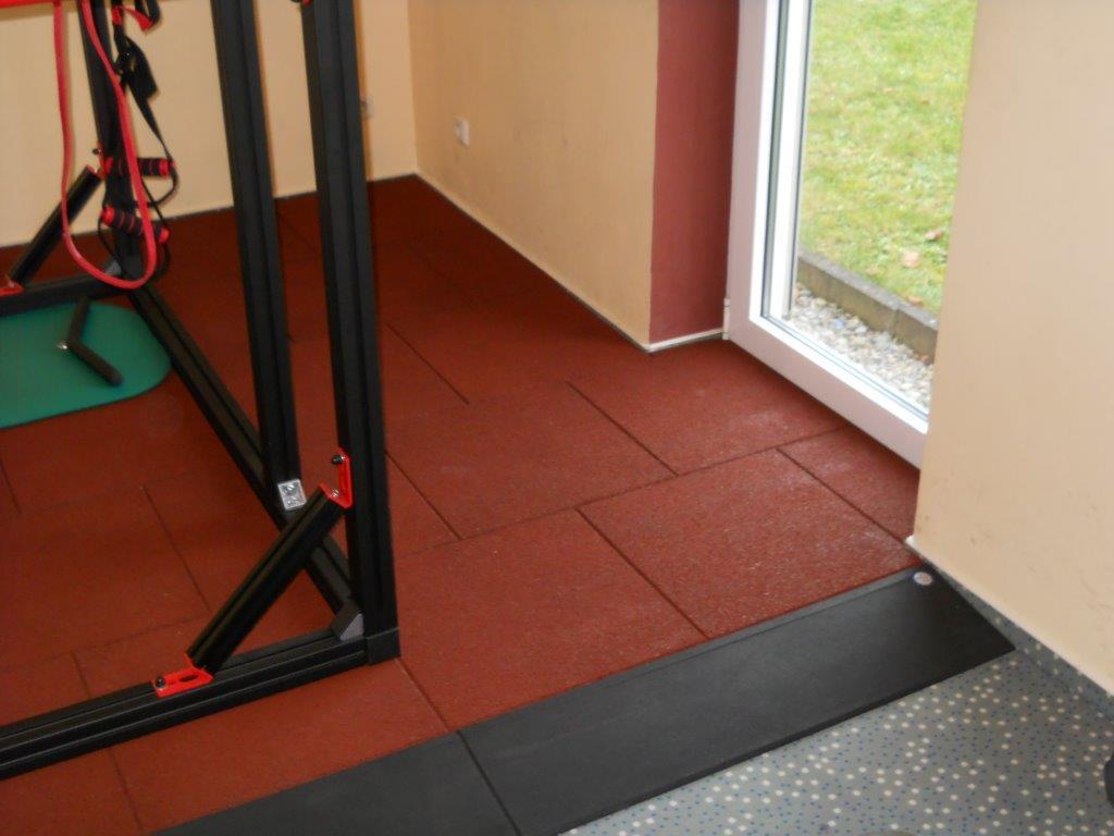 Fallschutzmatten für Fitnessstudio