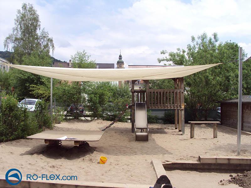 Sonnensegel für Sandkasten