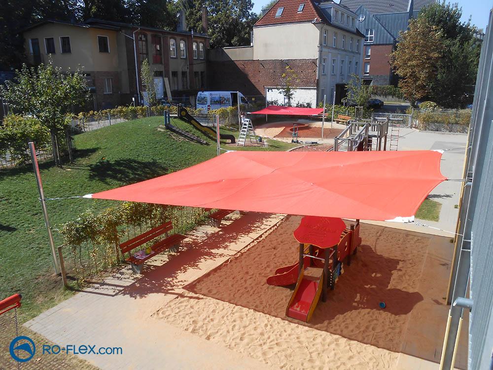 Sonnensegel Kindergarten Solingen