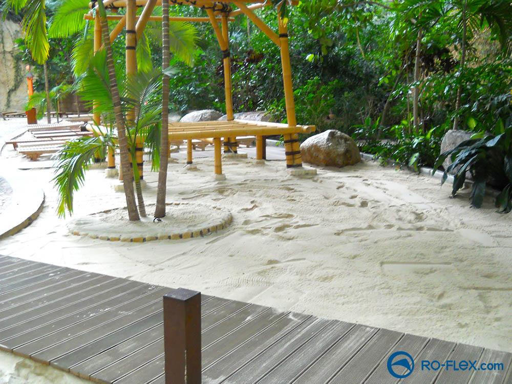 Tropical Island gereinigter Sand