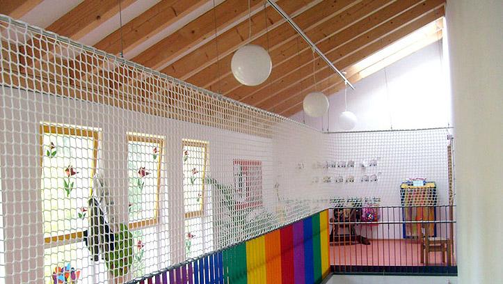 Schutznetz Kindergarten