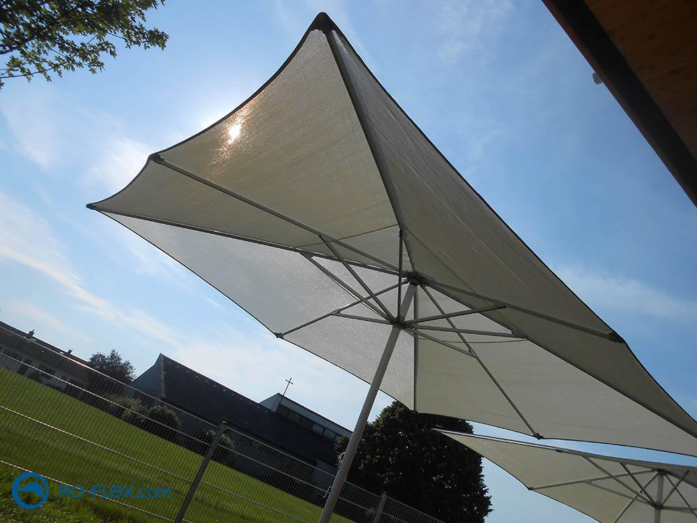Sonnenschirmgewebe & Sonnenschirmgestell