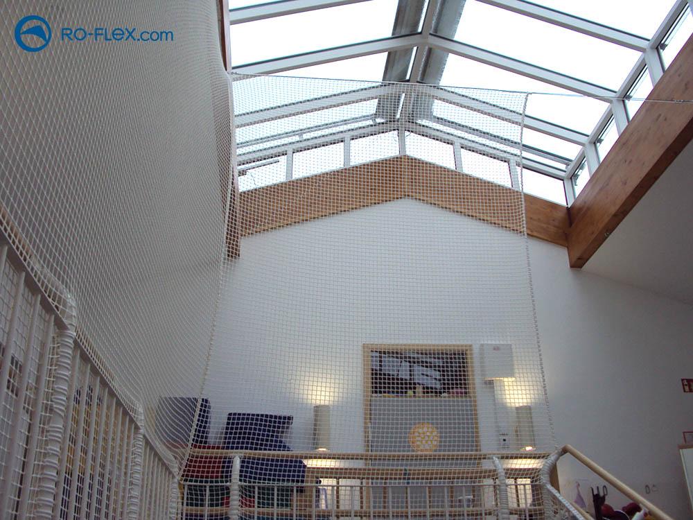 Schutznetzmontage Kindergarten Neunkirchen