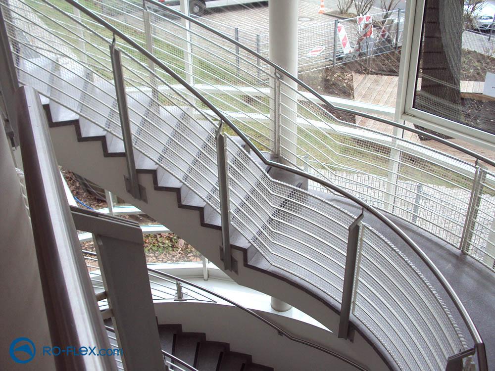 Treppensicherungsnetz Montage Nürnberg