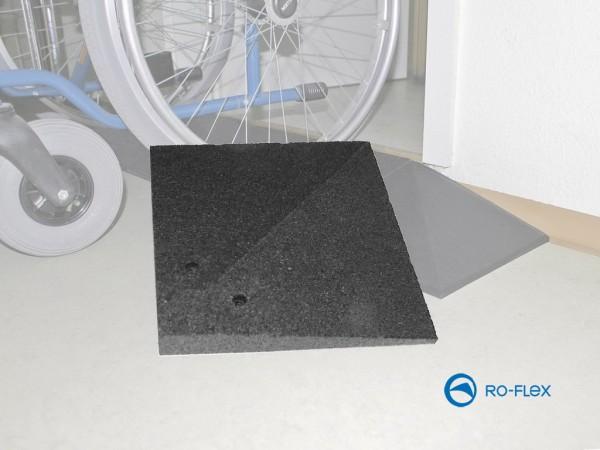 Gummirampe Classic Ecke 30 - 100 mm Höhe