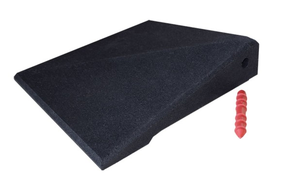 Kerb ramp corner Excellent 65 mm black
