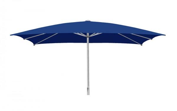 Parasol Sombrero rectangular 350 x 450 cm, blue