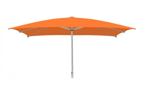 Sonnenschirm Sombrero rechteckig 500 x 600cm, orange, Standrohr Ø 110mm