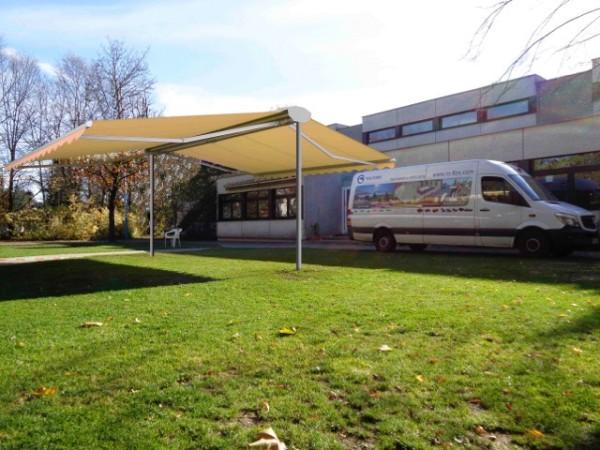 """Komfort Sonnenschutz freistehende Markise """"Roll On 6 x 4 m"""""""