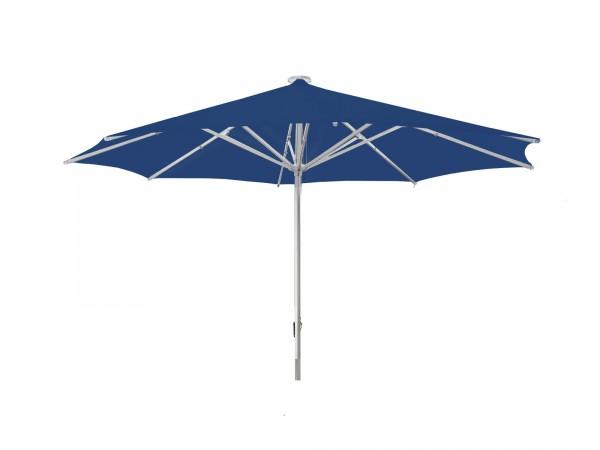 Parasol Sombrero Facil round Ø 500 cm, blue