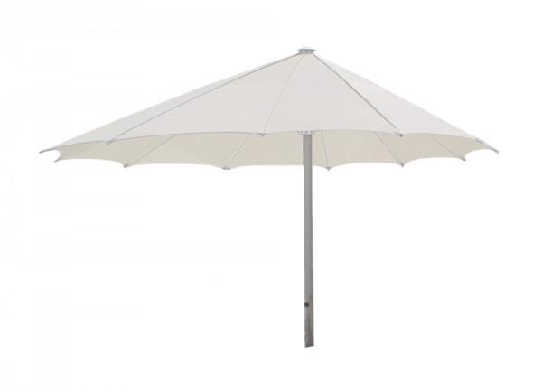 ROFI Klima Pro Comfort parasol, round off-centre Ø 500cm, standpipe Ø 110mm, white