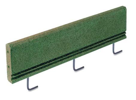 Wegeinfassung mit Bodenanker grün