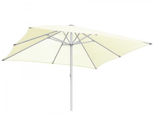 Komfort Sonnenschirm ROFI Klima Pro, quadratisch 600 x 600cm, Standrohr Ø 90mm, creme