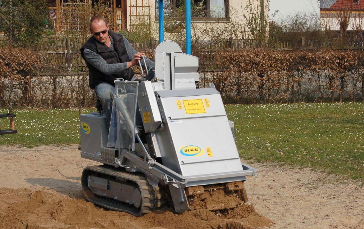 RO-FLEX Sandreinigung