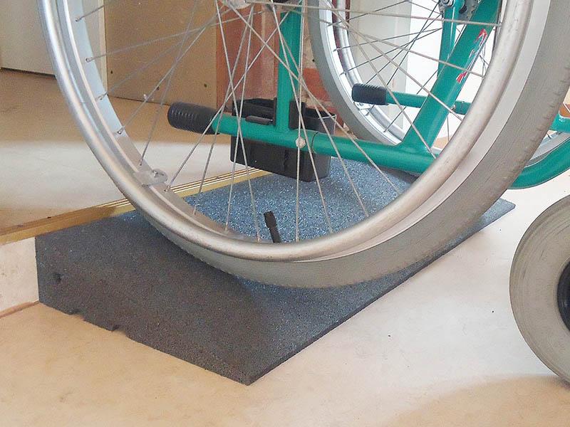 Rollstuhlrampen 75cm breit