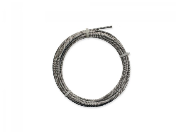 Stainless steel wire rope Ø 4 mm