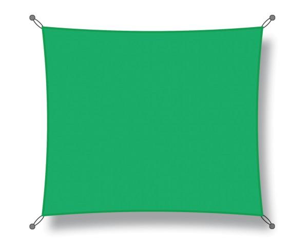 Sonnensegel Quadrat 3,00 x 3,00m hellgrün