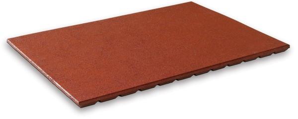 Rutschenauslaufplatte 45 mm rotbraun