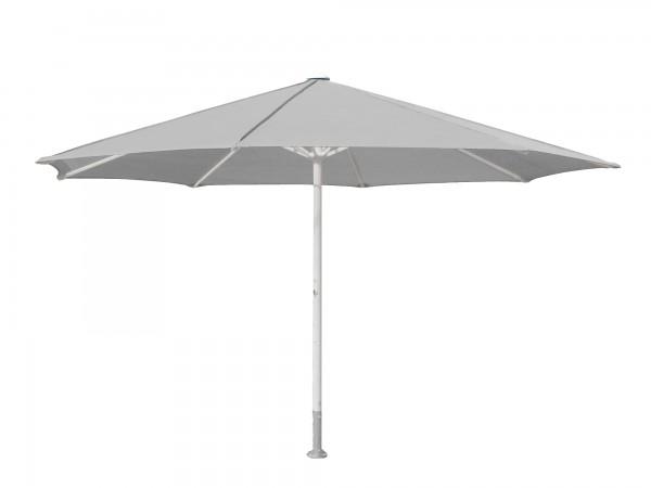 Komfort Sonnenschirm ROFI Klima Pro, rund Ø600cm, Standrohr Ø 1100mm, silber