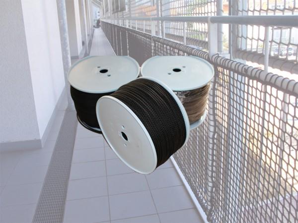 Polypropylene rope Ø 4 mm braided 8 times