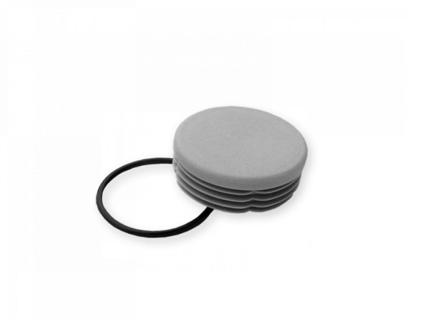 Ground sleeve cover cap for 1.5 inch post