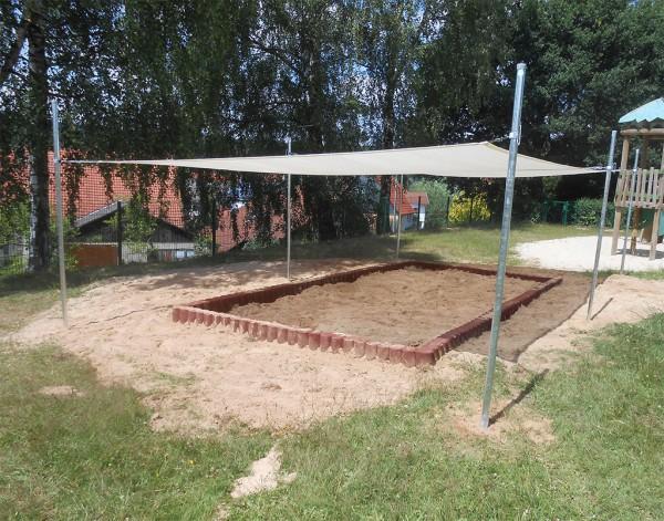Sonnensegel Sandkasten Kombination 3 in 1 Typ I