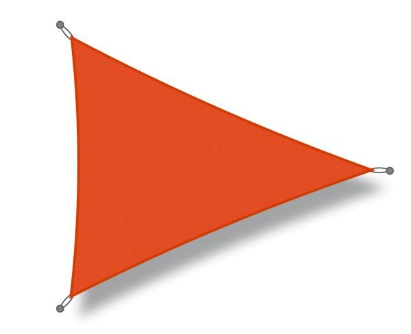 Sonnensegel RO-FLEX dreieck 5 x 5 x 5m orange