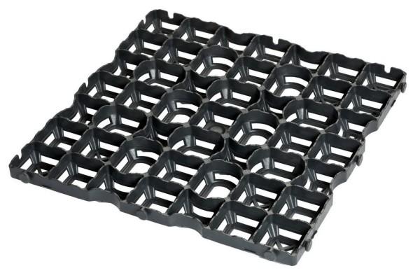 Paddockplatte Reitplatzgitter RG 40 Evolution - kombiniert eine schnelle Entwässerung mit einem integrierten Wasserspeicher