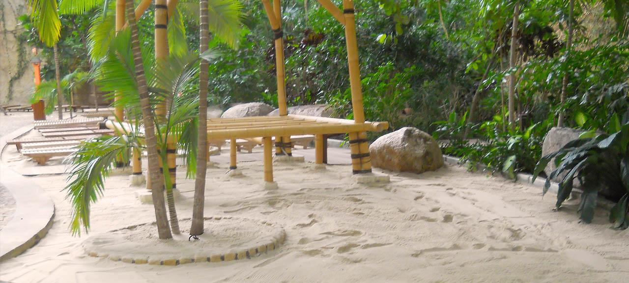 Sandreinigung Schwimmbad