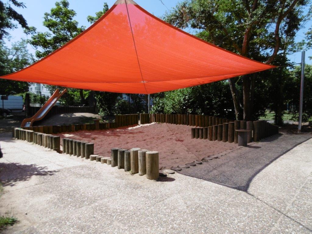 Sonnensegel Sandkasten RO-FLEX