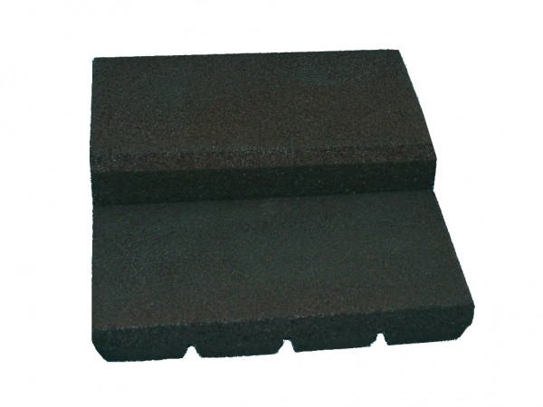 Entry aid bath level Type I 3 pieces incl. rubber adhesive black