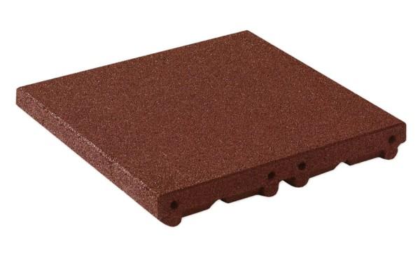 Floor tile modular ramp system 80 mm auburn