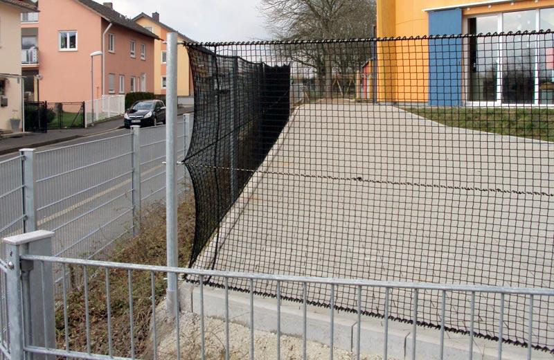 Ballfangnetz_Schule