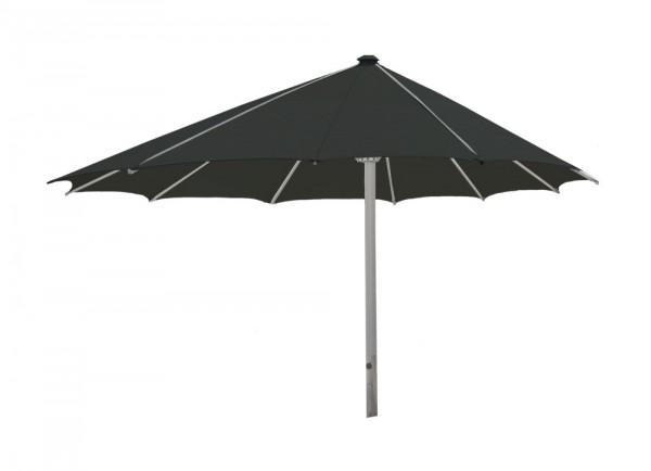 Komfort Sonnenschirm ROFI Klima Pro, rund exzentrisch Ø360cm, Standrohr Ø 60mm, schwarz