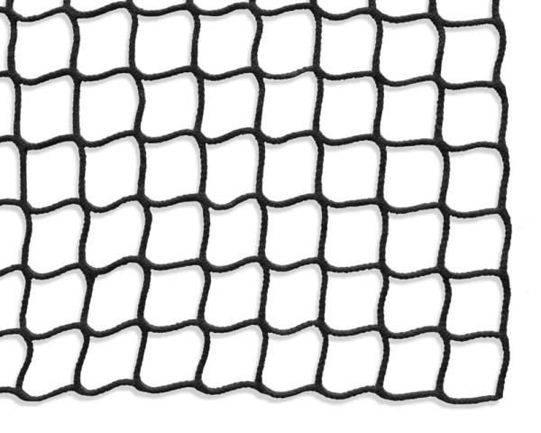 Safety net mesh size 45 mm, Material thickness 4 mm, black