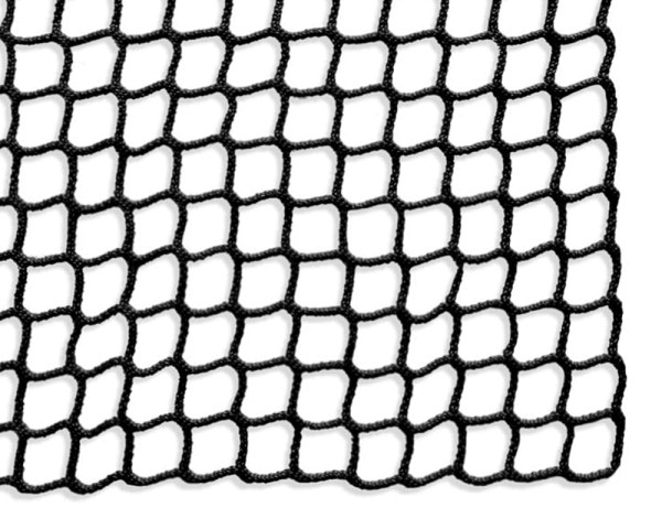 Safety net mesh size 30 mm, Material thickness 4 mm, black