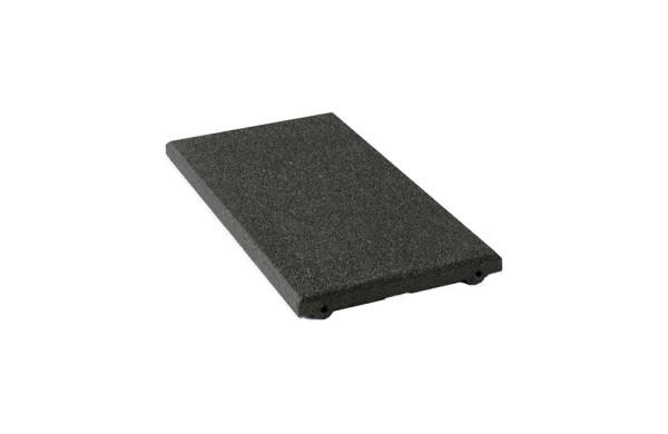 Fallschutzplatten 250 x 500 x 40mm, schwarz