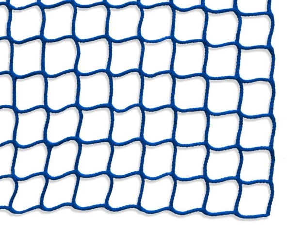 Safety net mesh size 45 mm, Material thickness 3 mm, blue
