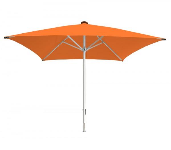 Sonnenschirm Facil quadratisch 500 x 500cm, orange, Standrohrdurchmesser 76mm