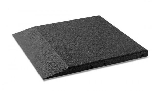 Fallschutzplatten Randplatten 30 - 80 mm Schwarz